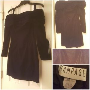 90s Vintage Rampage dress size 5 velvet